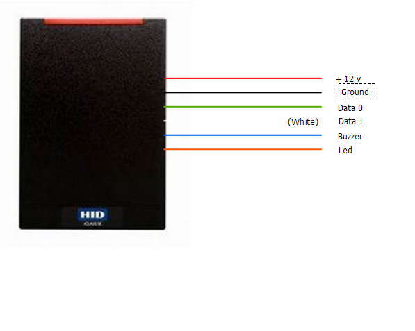 Access Cards And Card Readers, Hid Proximity Card Reader Wiring Diagram